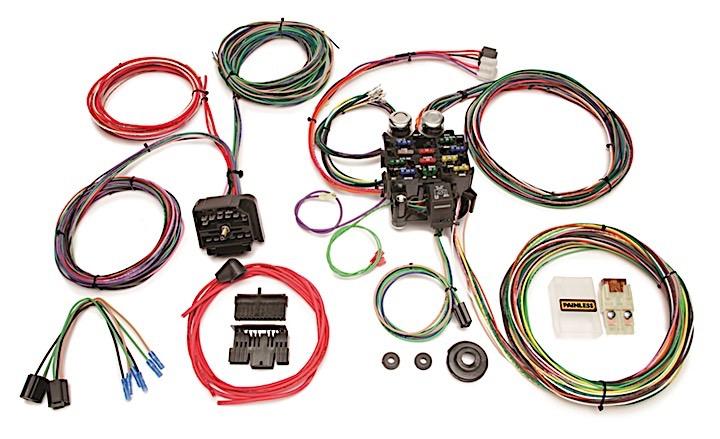 10106 Classic Customizable Jeep CJ Harness (1976-1986) - 22 Circuits