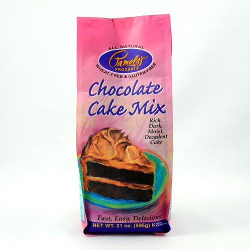 Pamelas Products Chocolate Cake Mix Gluten Free ( 6x21 Oz)
