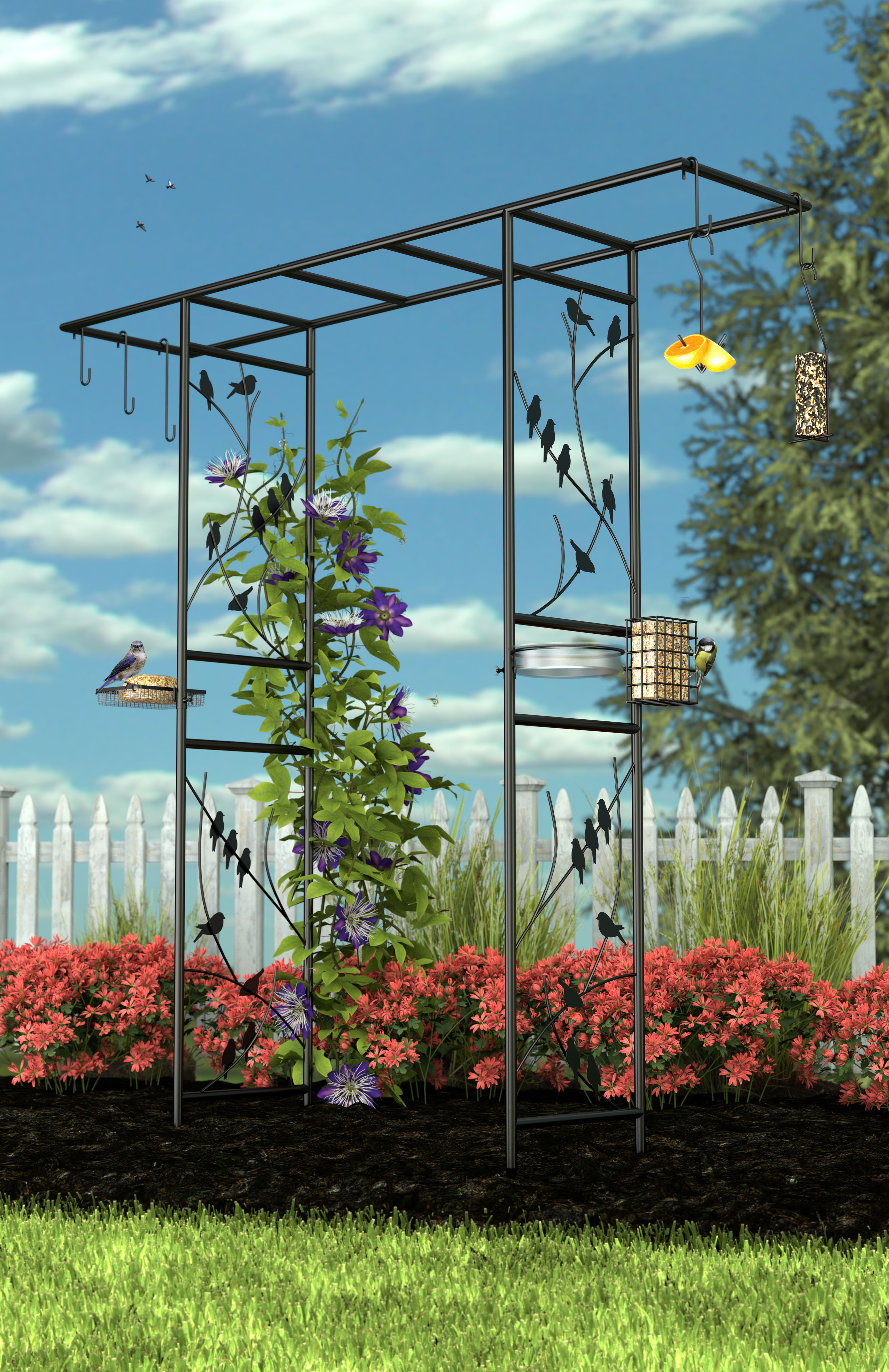Bird Feeding Station Arbor + FRT