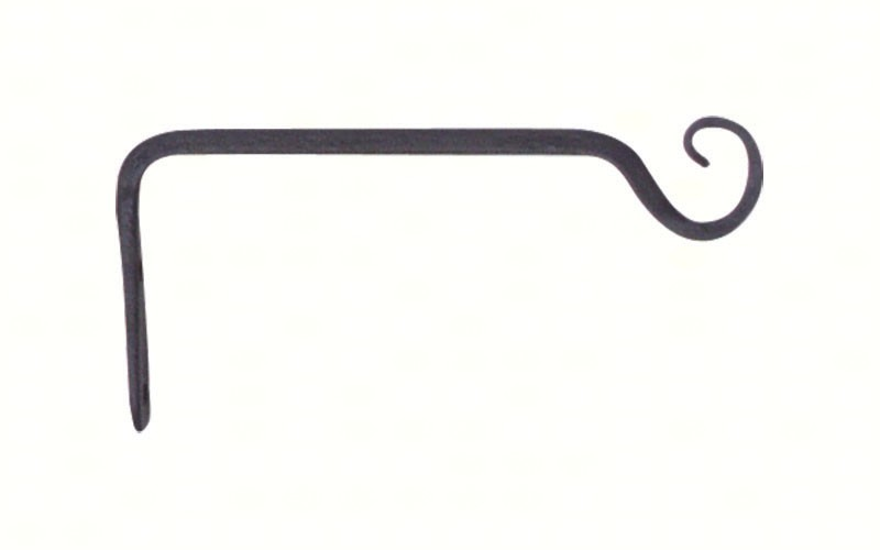 6 inch Forged Straight Hook Black