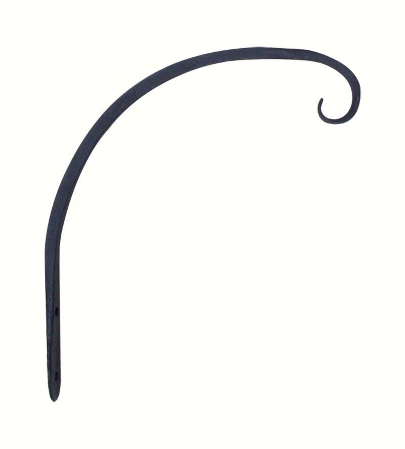 8 inch Forged Hook Curved Black