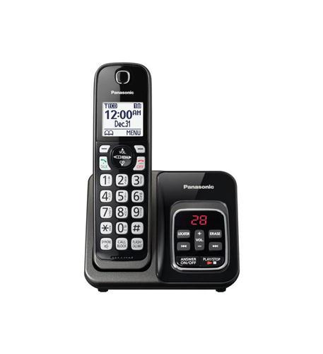 1HS Cordless Telephone- ITAD- Met Black