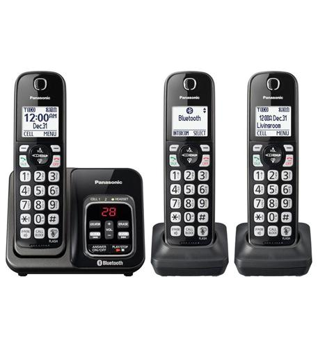 3HS Cordless Telephone- ITAD- Met Black