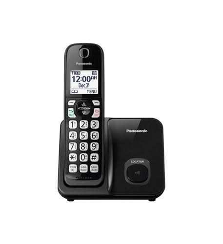 1HS Cordless Telephone in black