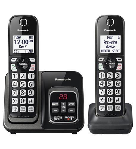 2HS Cordless Telephone- ITAD- Met Black