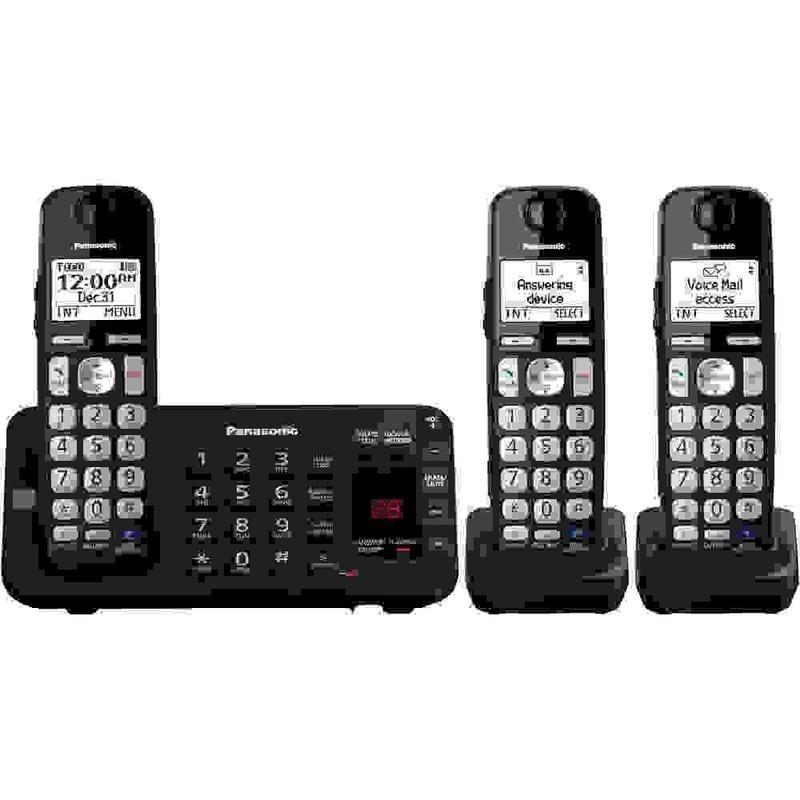 "3 HS Adv TAD 1.8"" White LCD Phone"