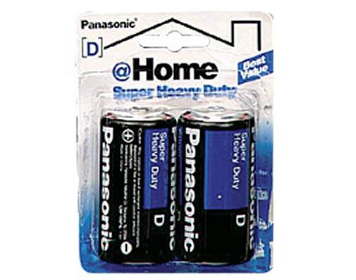 Panasonic Super Heavy Duty Power D 2-Pack
