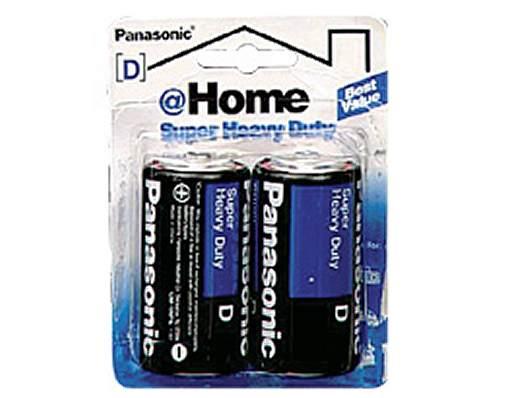 Panasonic Super Heavy Duty Power D 2-Pack