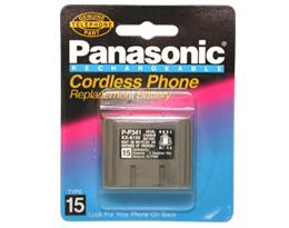 Panasonic P-P341 Type 15 Cordless Phone Battery