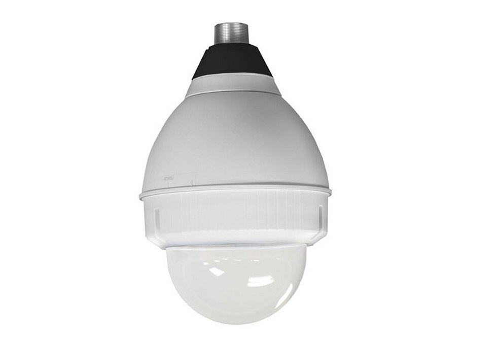 "Panasonic Outdoor 9"" Outdoor Dome Housing With Pendant Mount White POD9CTA"