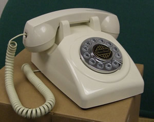 1950 Desk phone White