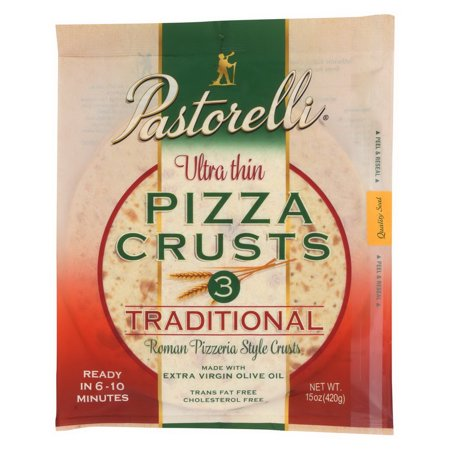 Pizza Crust - Ultra Thin - White ( 10 - 15 OZ )