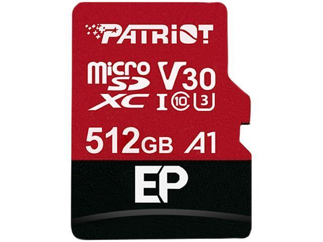 Patriot 512GB MicroSDXC V30 A1
