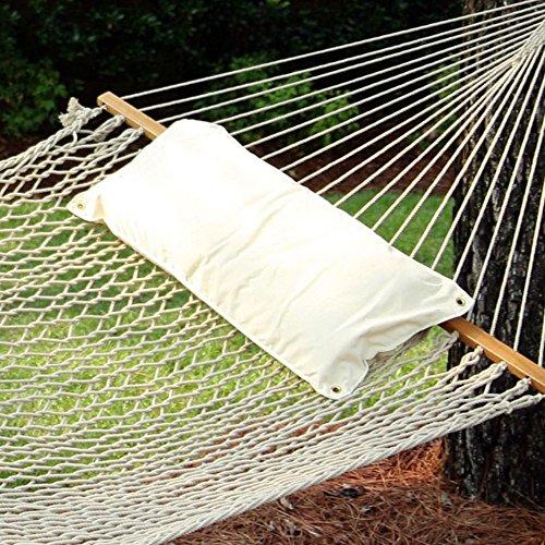 Large Hammock Pillow - Natural Chambray