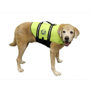 Doggy Life Jacket L Yellow