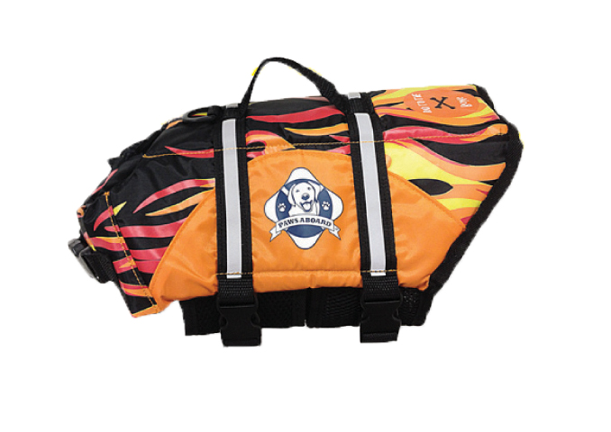 Doggy Life Jacket S Flames
