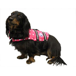 Doggy Life Jacket XS Pink Polka Dot