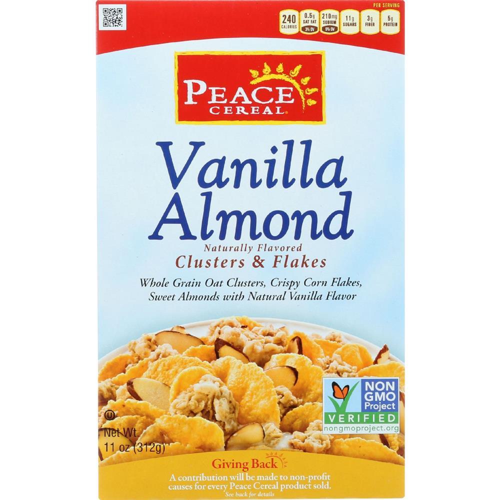 Peace Cereals - Vanilla Almond Cereal ( 6 - 11 OZ)