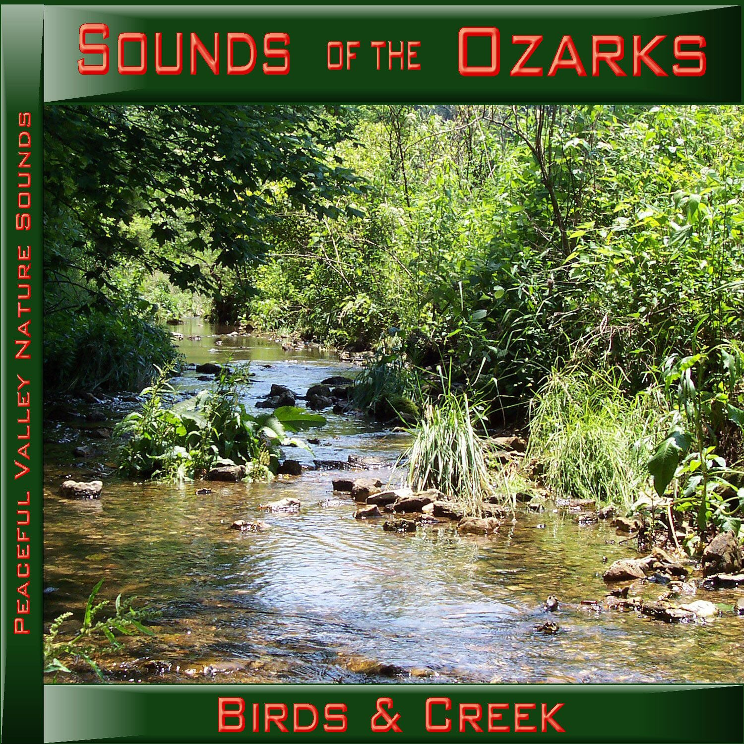 Sounds of the Ozarks Birds & Creek CD