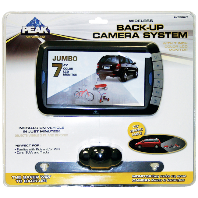 PKC0BU7 Wireless 7-Inch Back-up Camera Kit