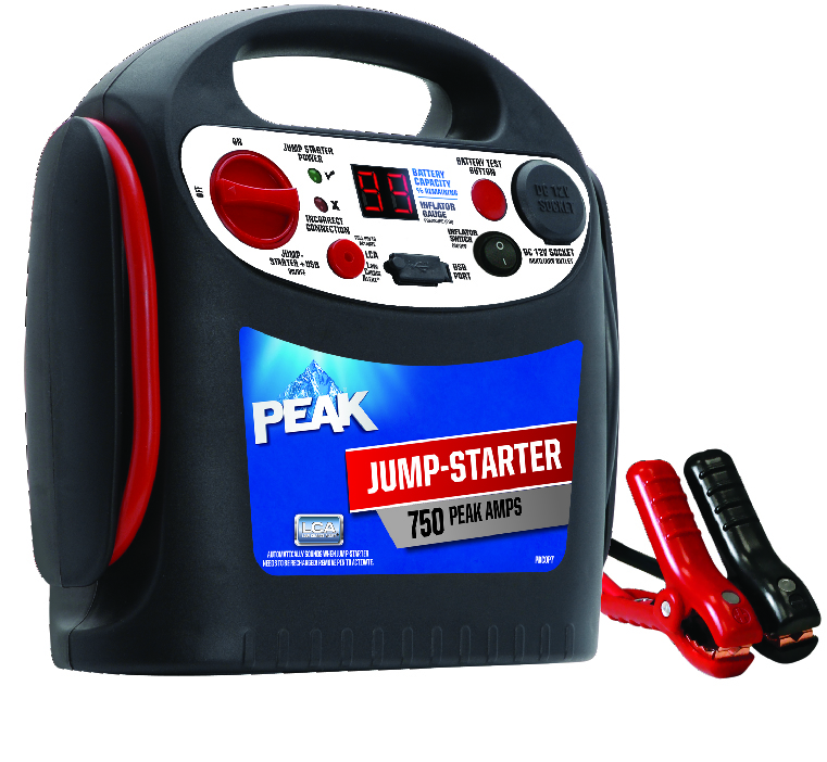 750 Amp Jump-Starter with USB and 12 Volt Power Source