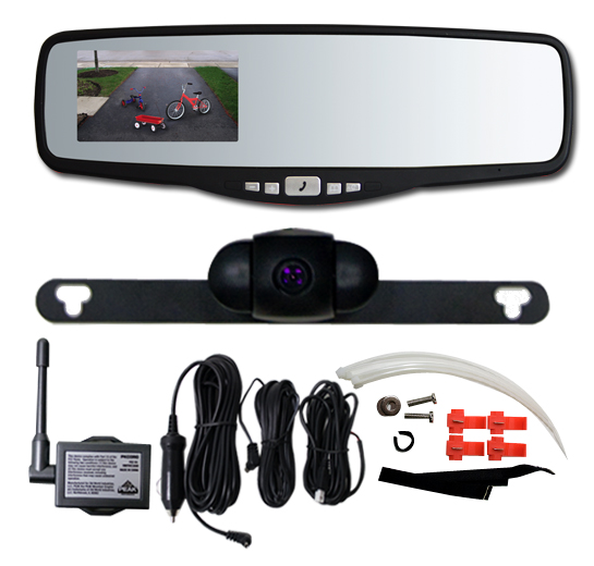 "3.5"" Rear View Mirror w/ Back Up Camera"