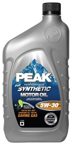 SYNTHETIC MOTOR OIL 5W30, 6-PACK