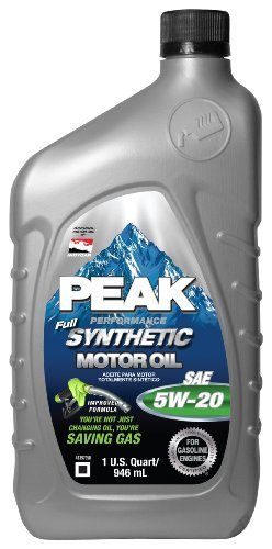 SYNTHETIC MOTOR OIL 5W20, 6-PACK