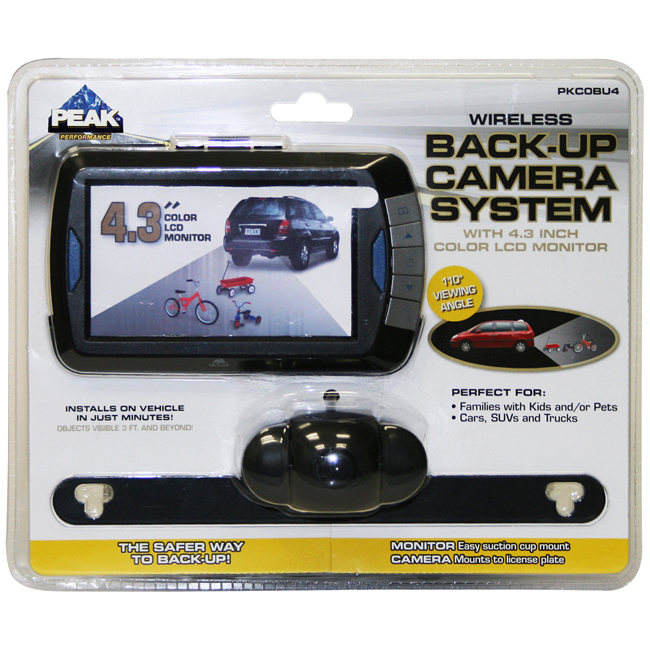 BACK UP CAMERA 4.3 IN
