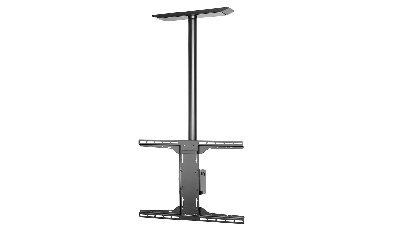 "Peerless Antimicrobial Ceiling Mount With Universal Adapter Plate For 32""-90"" PLCM-UNL-CP-AB"