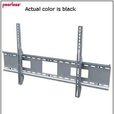 "Peerless 42""-71"" Universal Flat Mount Black"