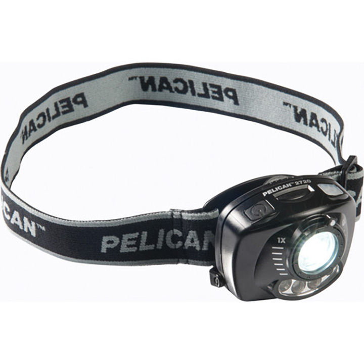 Pelican 027200-0101-110 Heads-Up Lite 200-Lumen White LED 8-Hour Runtime