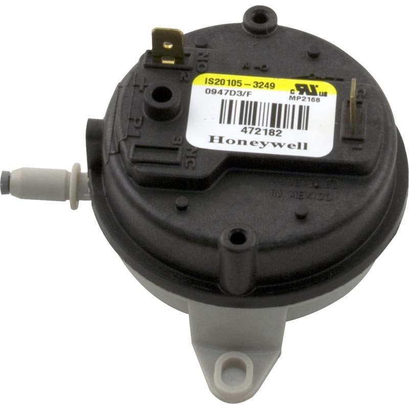 AIR PRESSURE SWITCH,0-2999FT,MOD300,400 NAT YELLOW