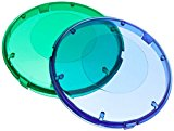 Lens Cover Kit, Pentair Aqualuminator, Blue & Green