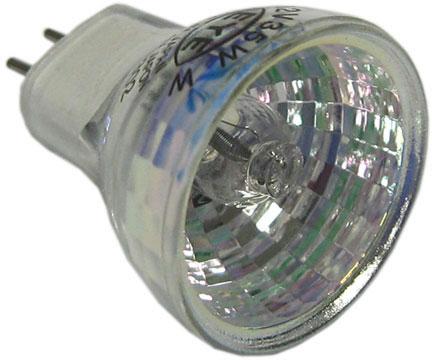 Light Bulb, Push In Halogen, 2-Pin Multi Reflector, Pentair, 12V, 35W, MR8