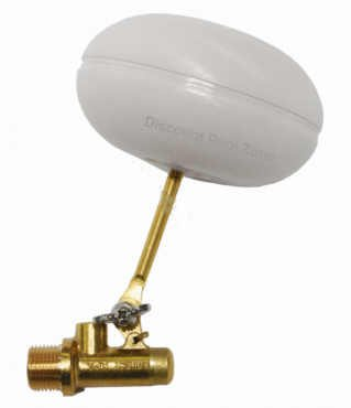 Float Valve, Autofill, Pentair Leveler, Brass