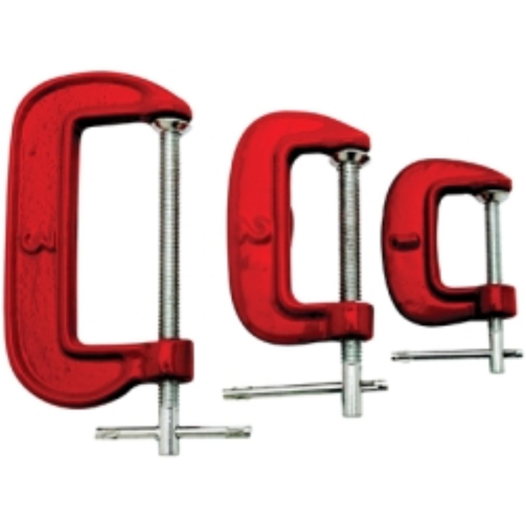 3 PC C-CLAMP SET - 1 2 3
