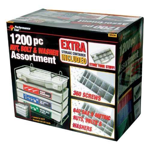 1200PC NUT & BOLT ASST