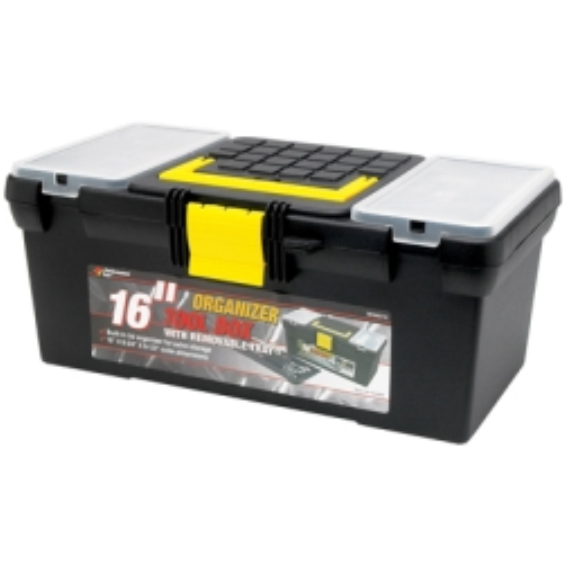 16 PLASTIC TOOL BOX
