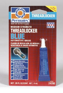242 BLUE THREADLOCKER 6ML