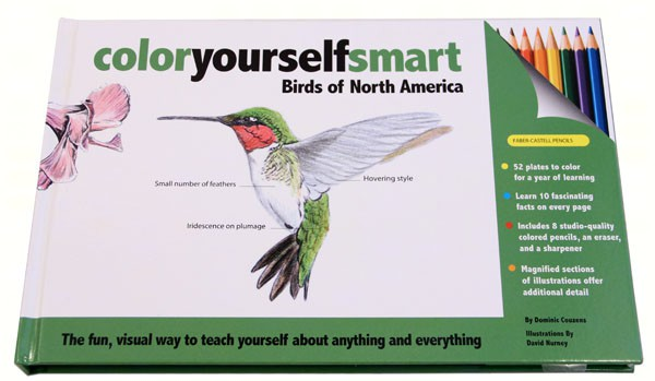 Color Yourself Smart: Birds of N.A.