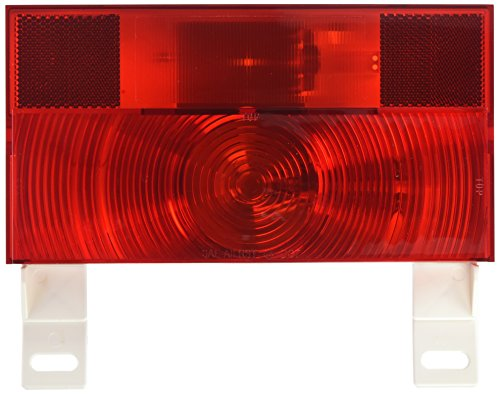 V25913 Red Turn and Tail License Light with Reflex