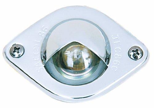 V437 Chrome License Plate/Utility Light