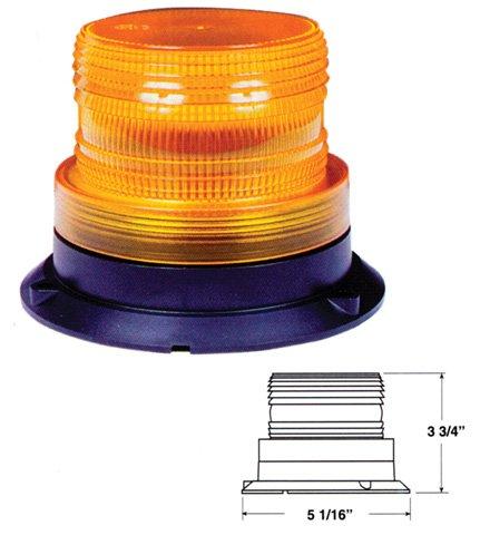 MICRO-STROBE LIGHT -- AMBER -- MAGNETIC