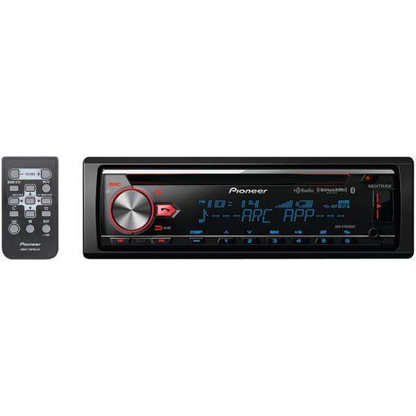 Pioneer DEH-X7800BHS Single-DIN In-Dash CD Receiver with MIXTRAX, Bluetooth, HD Radio & SiriusXM Ready