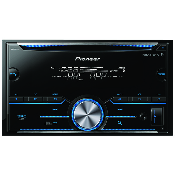 Pioneer FH-S500BT Double-DIN In-Dash CD Receiver with Bluetooth
