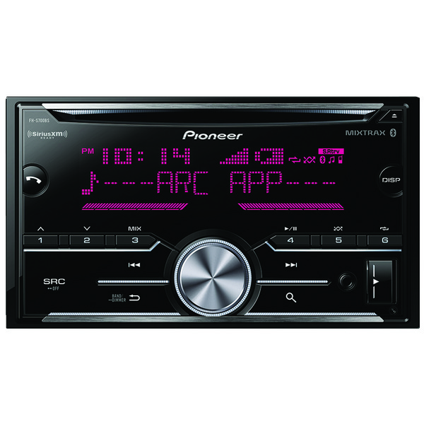 Pioneer FH-S700BS Double-DIN In-Dash CD Receiver with Bluetooth & SiriusXM Ready