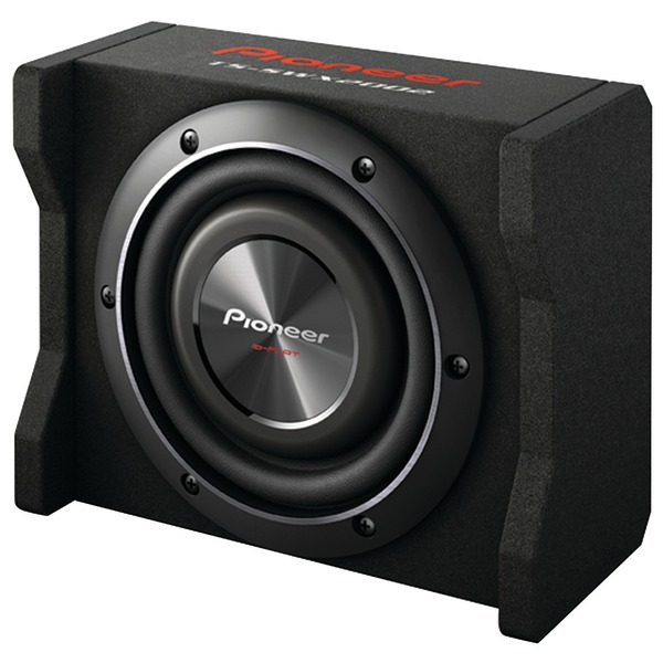 """Pioneer TS-SWX2002 8"""" Preloaded Subwoofer Enclosure Loaded with TS-SW2002D2"""