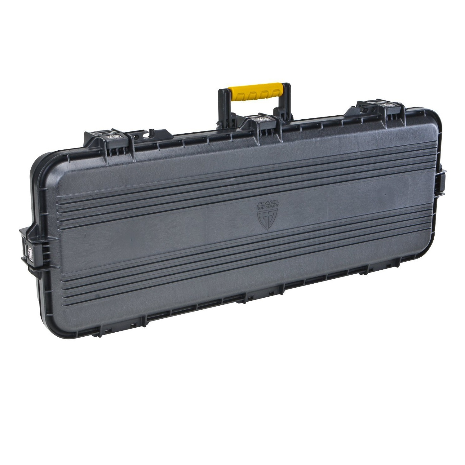 "Plano AW Tactical Case 36"" Black w/Yellow Latches and Handle"