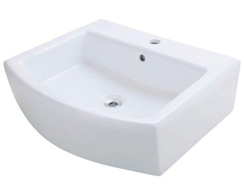 Polaris P003VW White Porcelain Vessel Sink